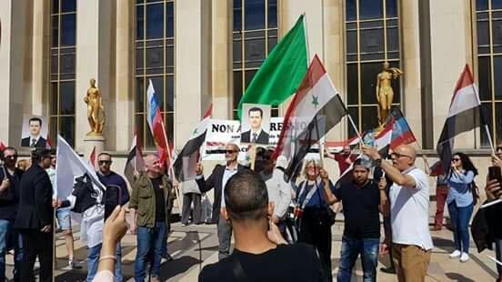 Paris: Rassemblement pour dénoncer l'intervention française en Syrie
