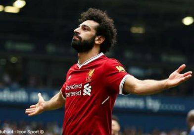 Mohamed Salah inscrit son 31e but et égale le record de Ronaldo
