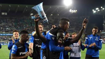 Le Club Bruges sacré champion de Belgique